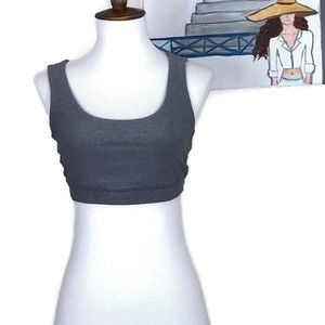 Lululemon athletica Gray Multi-strap Sports Bra 8
